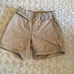 Boys casual khaki shorts